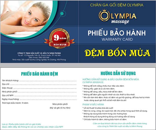2886 2886 dem bon mua olympia massage a - Đệm Bốn Mùa Olympia Massage