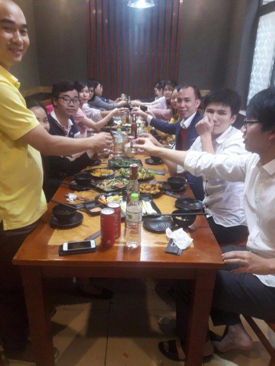 Vui chơi hết mình ngày 20/10 của nhân viên Minh Phong