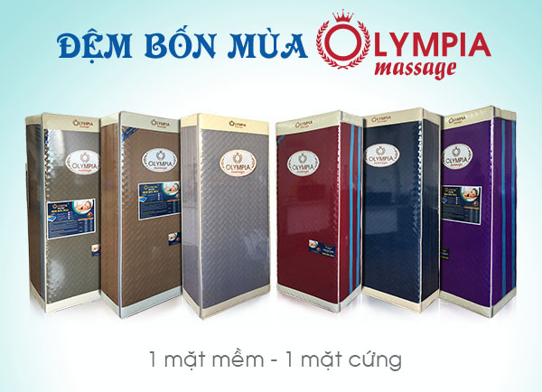 Video Đệm bốn mùa Olympia Massage