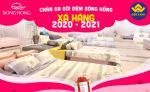 Chăn ga gối đệm Sông hồng xả hàng giá sốc 2020-2021