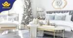 27 ý tưởng trang trí phòng ngủ Giáng sinh Noel siêu đơn giản
