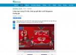 Lãng mạn cùng 20 mẫu chăn ga gối đệm cưới Singapore hoàng gia