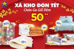 Chào xuân Tân Sửu - Khuyến mại siêu khủng tới 60% tại Đệm Xanh