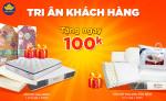 Chương trình Tri ân Khách hàng tại Đệm Xanh (Áp dụng cho KH đã mua đệm có giá trị dưới 2 triệu đồng)