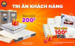 Chương trình Tri ân Khách hàng tại Đệm Xanh (Áp dụng cho KH đã mua đệm có giá trị trên 2 triệu đồng)