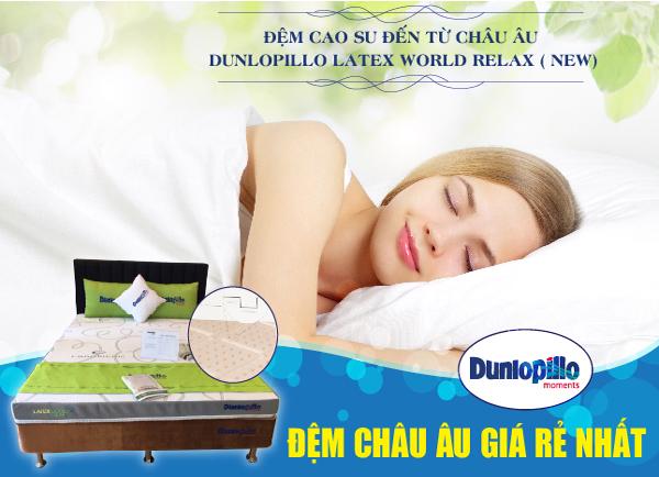 Đệm cao su Dunlopillo nâng niu bạn đến từng giấc ngủ