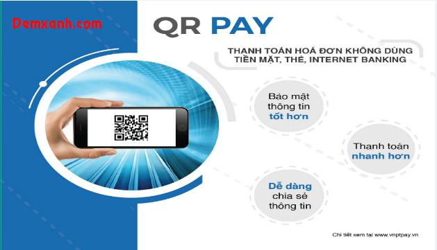 Cách thanh toán QR Pay trên Demxanh.com