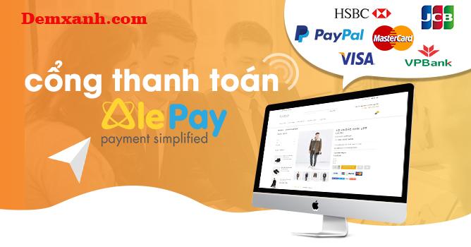 Hướng dẫn mua trả góp bằng thẻ tín dụng Visa, Master qua cổng thanh toán Alepay