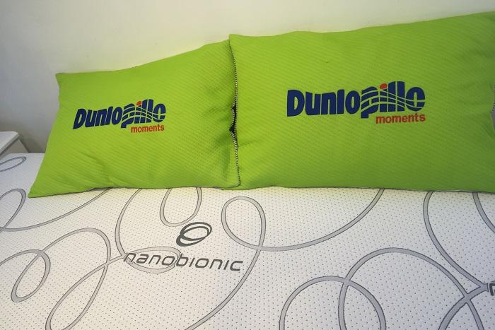 Các sản phẩm nệm cao su Dunlopillo chính hãng và chất lượng