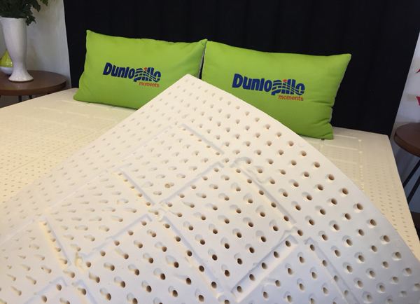 Đệm cao su Dunlopillo Latex world- An toàn- êm ái