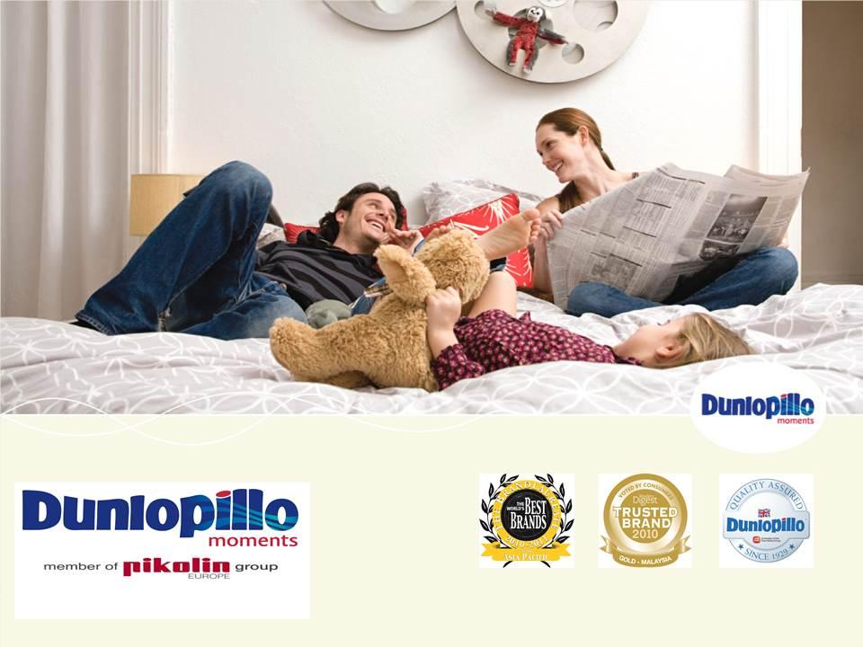 Tạo sự khác biệt trong giấc ngủ của bạn cùng Dunlopillo