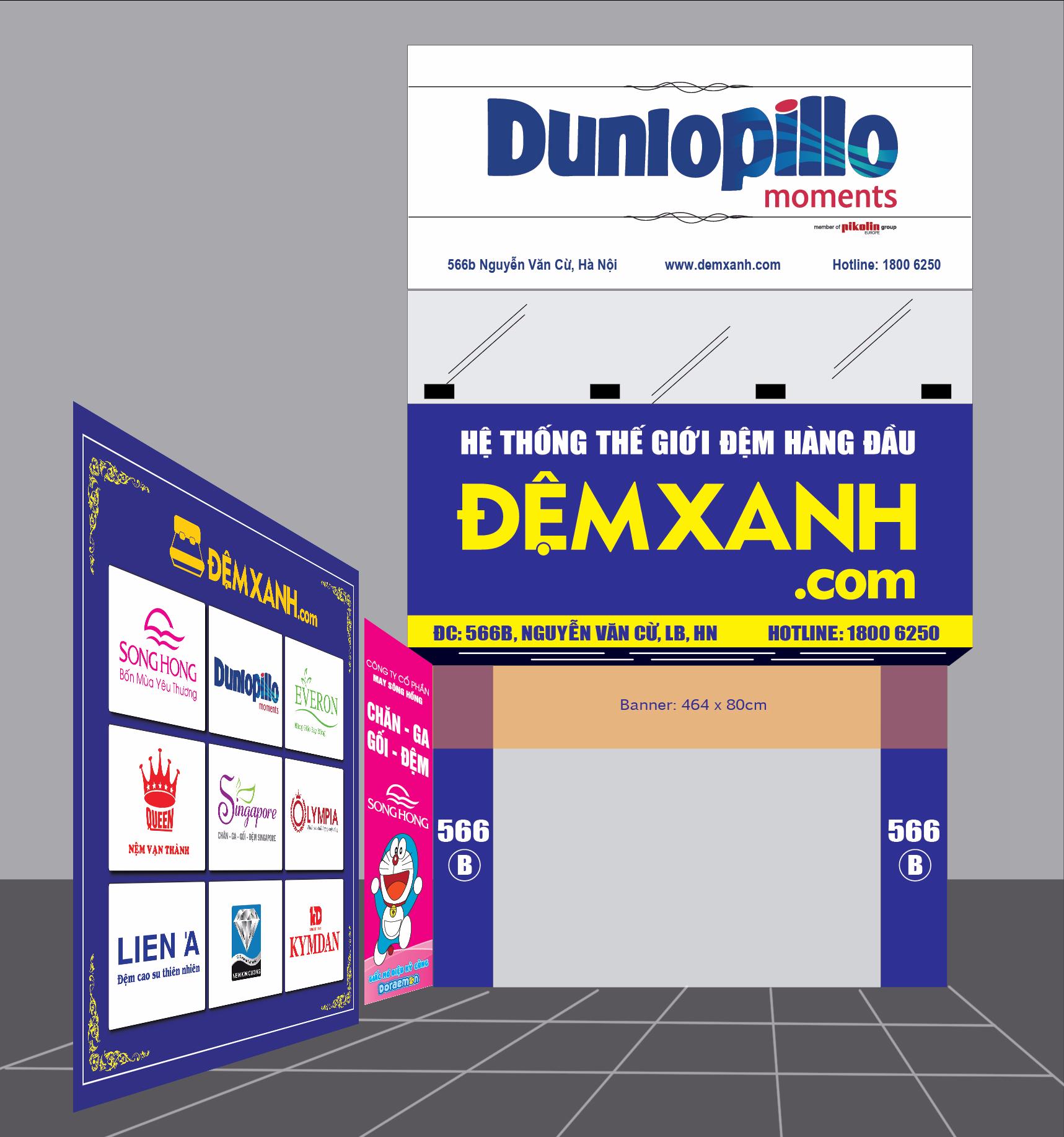 Đệm Xanh đẩy mạnh đào tạo nhân viên bán hàng thông qua training sản phẩm Dunlopillo