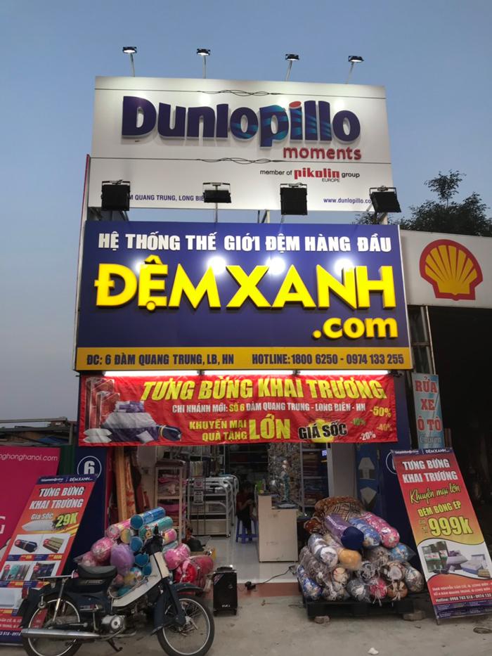 Đệm Xanh Vĩnh Tuy, Hà Nội - Địa chỉ cung cấp sản phẩm chăn ga gối đệm chất lượng hàng đầu