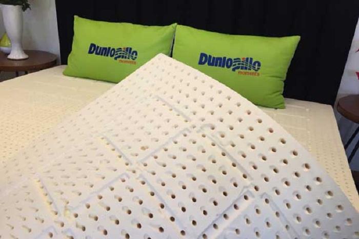 Những công nghệ sản xuất đệm cao su Dunlopillo nổi trội