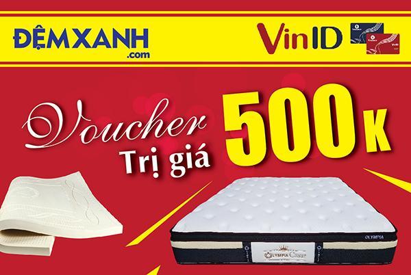 Tặng ngay voucher 500K mua chăn ga gối đệm với mã khuyến mại từ Vinid