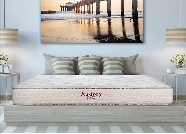 [Cập nhật] Bảng giá đệm lò xo túi Dunlopillo New Audrey mới nhất 2020