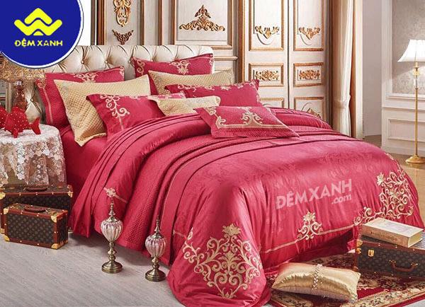 Tìm hiểu gam màu hồng trong thiết kế chăn ga gối đệm