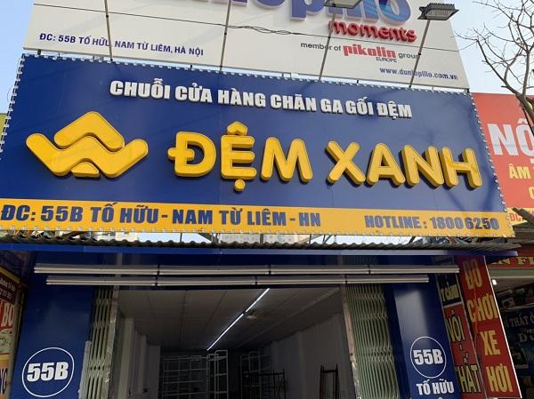 Hệ thống Đệm Xanh khai trương Showroom bán chăn ga gối đệm mới tại Tố Hữu – Nam Từ Liêm