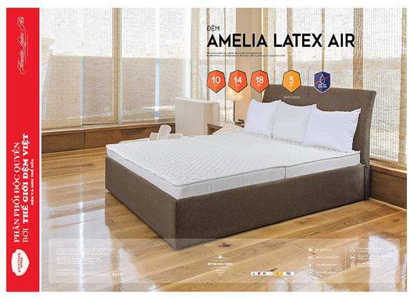 Đệm cao su Amelia Latex Air là gì