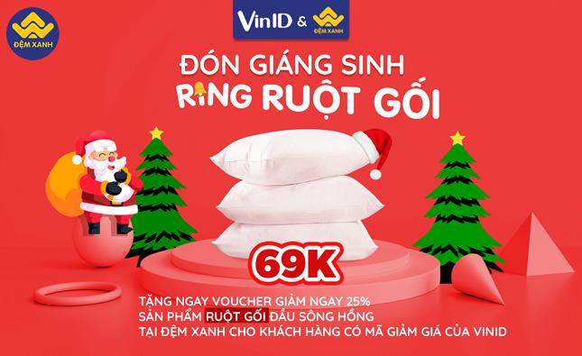 Giá Shock cho Khách Vinid: Ruột Gối Sông Hồng 45 x 65cm giảm 25% chỉ còn 69k