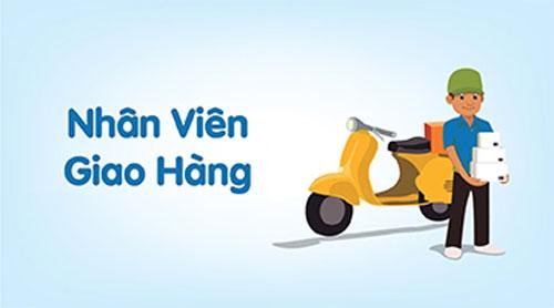 Tuyển gấp nhân viên giao hàng tại Hà Nội