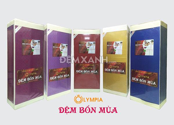 Đại lý đệm Bốn Mùa Olympia chính hãng tại Thái Bình