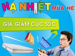 Đệm lò xo giá rẻ nhất Hà Nội: Đệm lò xo chính hãng khuyến mại giảm tới 49%