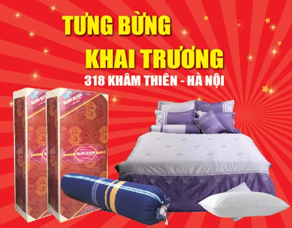 Tưng bừng khai trương cơ sở mới 318 Khâm Thiên Hà Nội