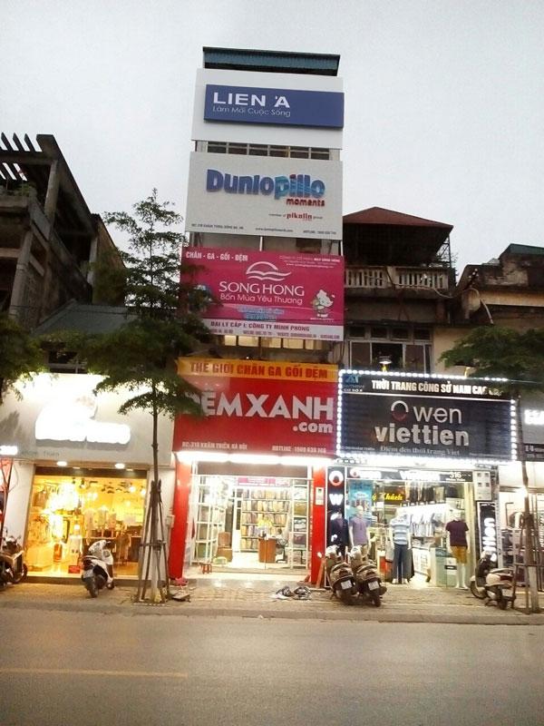 Đệm Xanh: 318 Khâm Thiên, Đống Đa, Hà Nội