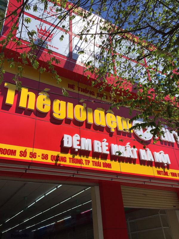 56 - 58 Quang Trung – nơi đặt niềm tin mua chăn ga gối đệm tại TP Thái Bình