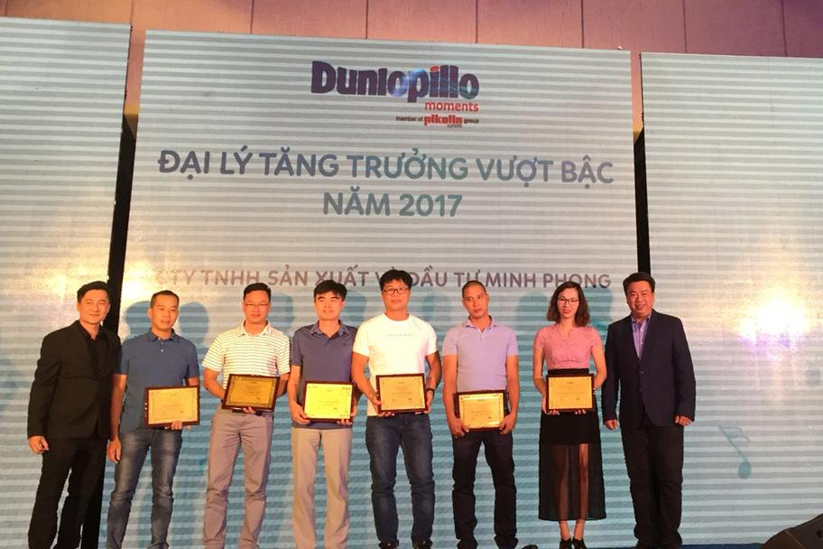 Dunlopillo tổ chức hội nghị khách hàng 2018
