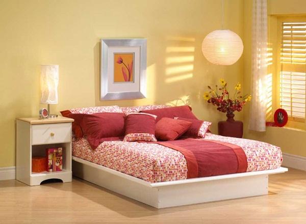 Cách bố trí phong thủy phòng ngủ giúp vợ chồng giữ lửa hạnh phúc