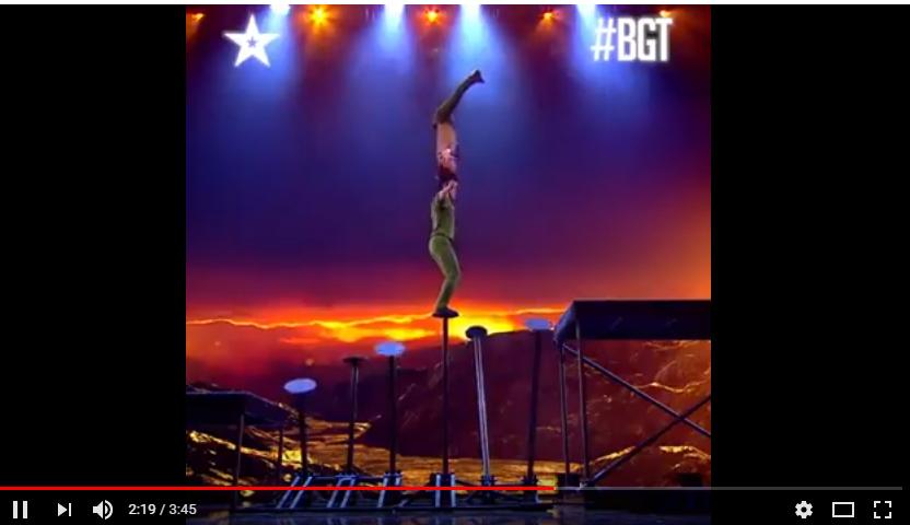 Anh em hoàng tử xiếc Quốc Cơ - Quốc Nghiệp trong đêm chung kết Got Talent