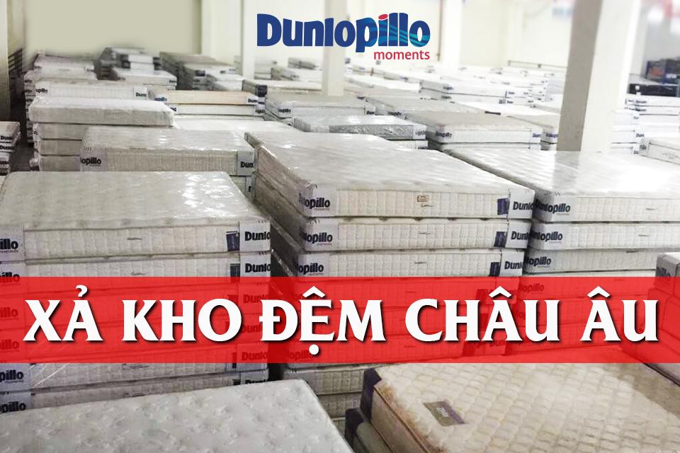Đệm Nệm Dunlopillo xả kho giá rẻ nhất thị trường
