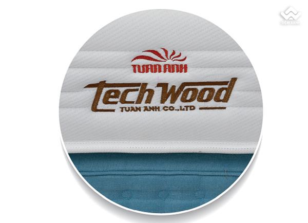 Đệm lò xo Tuấn Anh Techwood không bóc