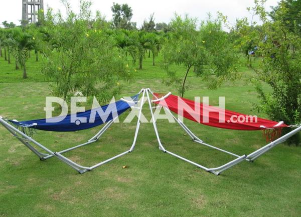 Võng Xếp Duy Phương Khung Inox Phi 27 DP27