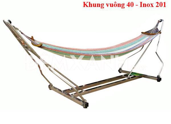 Võng Xếp Duy Phương Khung Vuông DPV01