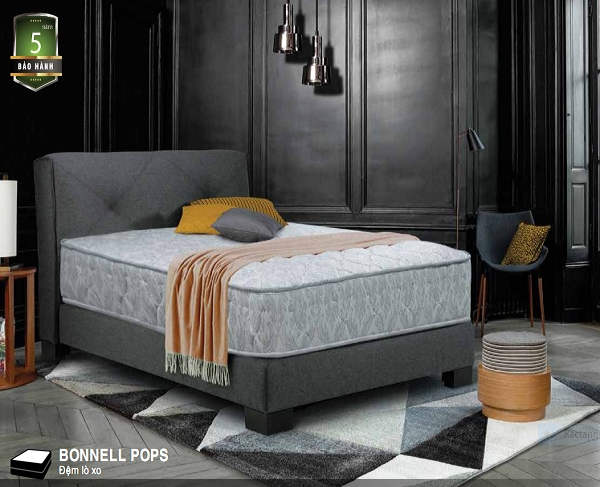 đệm lò xo everon bonnel pops