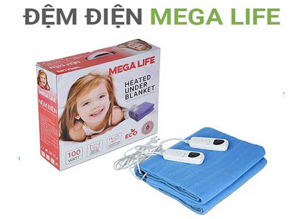 Chăn đệm điện sưởi Mega Life