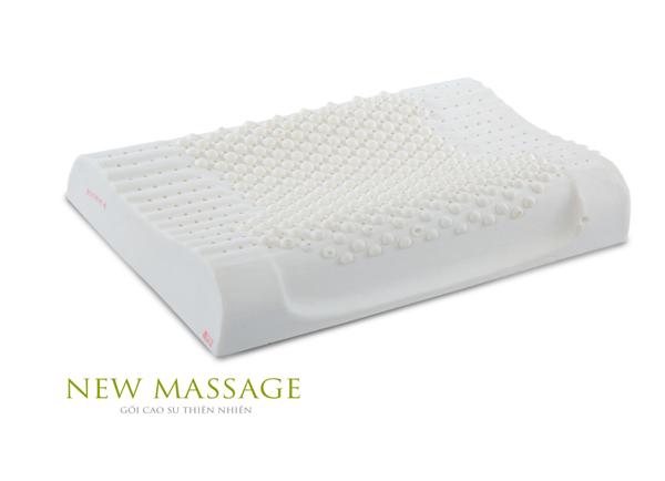 Gối cao su Vạn Thành New Massage G1
