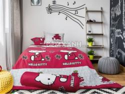 Chăn ga gối Sông Hồng Hello Kitty K17038