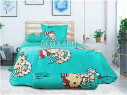 Chăn ga gối Sông Hồng Hello Kitty K17040