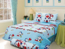 Chăn ga gối Sông Hồng Doraemon D15011