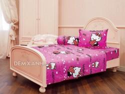 Chăn ga gối Sông Hồng Hello Kitty K15029