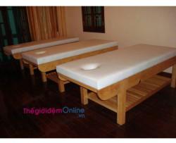 Đệm cho giường Massage, Spa Bông Ép