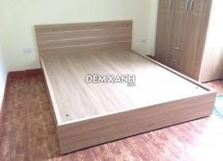 Giường gỗ MDF 02 Melamine