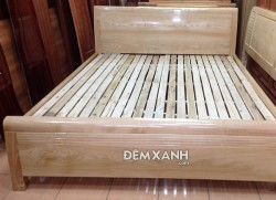 Giường gỗ sồi tần bì 02