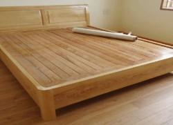 Giường gỗ sồi nga 3 vai 03