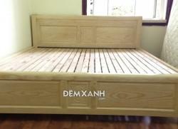 Giường gỗ sồi 04