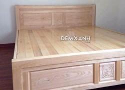 Giường gỗ sồi 05 (vạt phản)